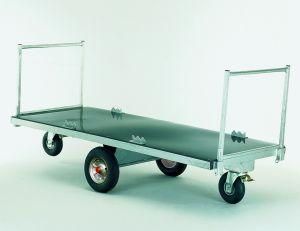 Voerwagen / Strowagen met middenas, 100 cm
