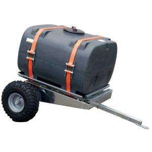 Watertank aanhanger voor quads, 400 liter