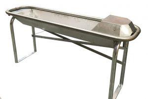 Staldrinkbak  Suevia Comfort Rondo 150 cm RVS