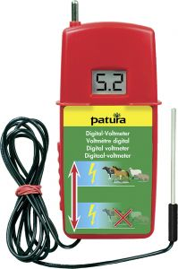 Digitaal voltmeter m. belastingweerstand