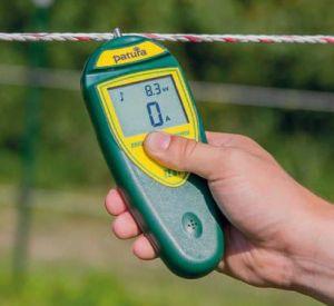 Patura rasterkompas, voltmeter voor schrikdraad met foutdetectie functie