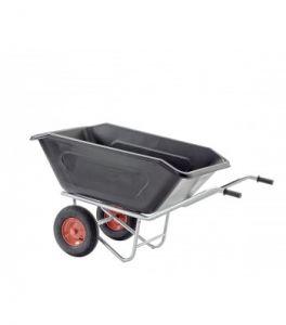 Manegekruiwagen 360 liter ZWART