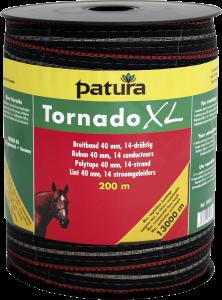 Tornado XL lint 40 mm bruin, 200 meter