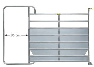 Paneelhek met frame XL Plus, 3,05 x 2,10 mtr