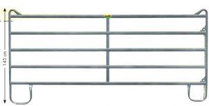 Pony paneelhek-5, gegalvaniseerd 1,45 x 2,40 mtr.