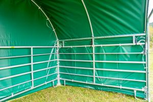 Weerbeschermingszeil gevelzijde voor bij Paneeldak Compact