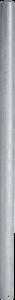 Paal Ø 76mm, 1,95 mtr, gegalvaniseerd