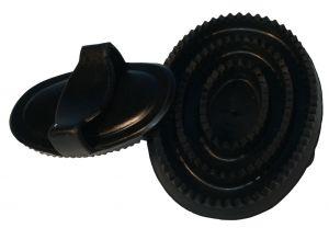 Paarden massage rubber ovaal fijn 15 cm