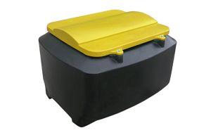 Krachtvoerbak 750 kg / 1000 ltr met deksel