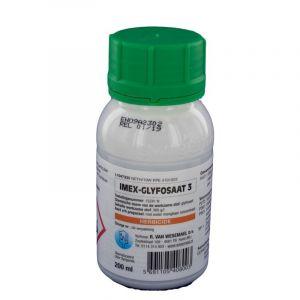 Roundup alternatief: Glyfosaat Imex 3 (360gr/ltr) 0.2 ltr.