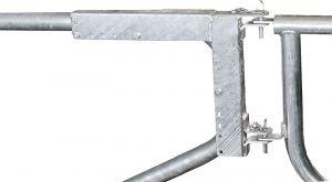 Montageframe afscheidingen R2LBaanligboxbeugel d=60 mm