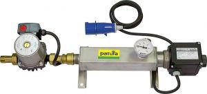 Rondpompsysteem Mod. Compactmet thermostaat, circulatiepomp, thermometer