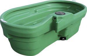 Weidedrinkbak 950l, ovaal, zond. ventiel