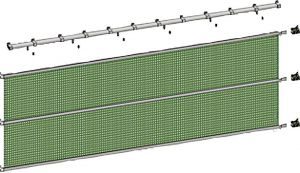 Looprail set 4m