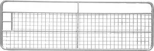 Weidepoort met gaas 3,00 m,gegalvaniseerd, incl. montageonderdelen