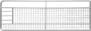 Weidepoort met gaas 5,00 m, gegalvaniseerd, incl. montageonderdelen