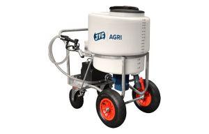 Melktransporter 170 liter met mixer en pomp