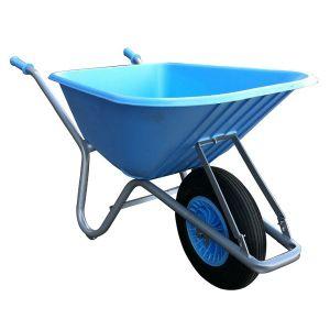FORT bouw en tuin kruiwagen 100 liter, BLAUW