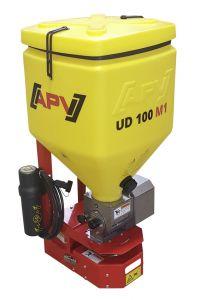 Elektrische zoutstrooier voor quad of auto, 100 ltr