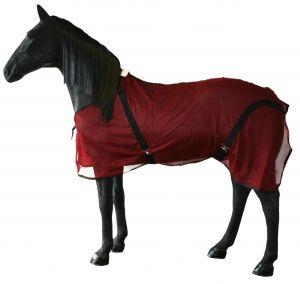 Vliegendeken paard nylon L 195 cm