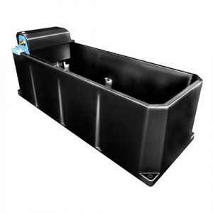 Drinkbak 120 ltr - verplaatsbare vlotter