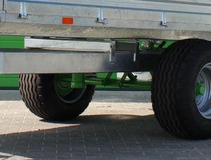 Optie tweeleiding hydraulisch remsysteem voor Zocon kipper 4.5 ton