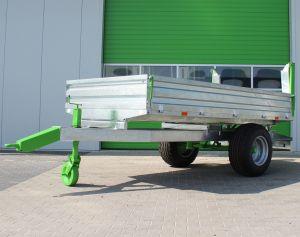 Gegalvaniseerde Zocon kiepwagen 4,5 ton kipper 4.5 ton