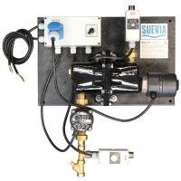 Warmwatercirculatie-unit 230V/3kW met retourwatertemperatuuraansturing