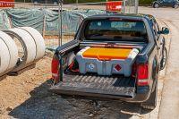 Pick-up mobiele dieseltank 210 l 12V CENTRI SP met deksel