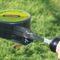 Rollgate met zwart lint 6 mtr uitrekbaar