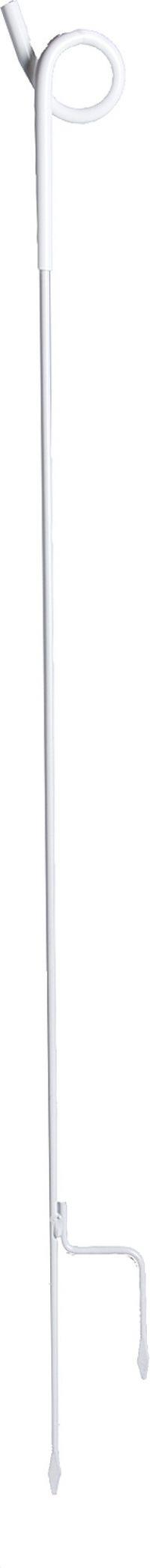 Schrikdraadpalen met varkenskrul isolator 100 cm, 10 stuks