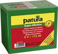 Super Alkaline Batterij 9V 120Ah, klein