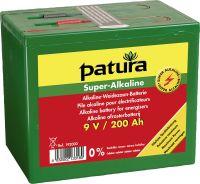 Super Alkaline Batterij 9V 200Ah, groot