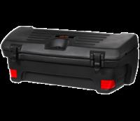 Hardcase achterkoffer voor quads. ATV Koffer met reflectors en sluitingen