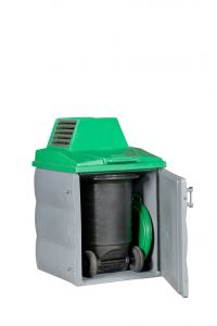 Kadaverkoeling 1 container met RVS verdamper