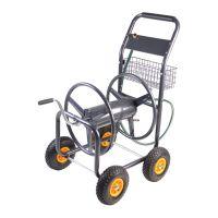 Slangenwagen/ haspelwagen prof - 4 luchtbandwielen