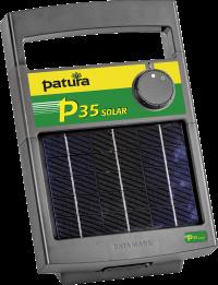 P35 Schrikdraadapparaat met zonnepaneel