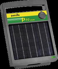 P70 Schrikdraadapparaat met zonnepaneel