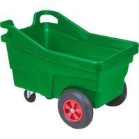 Voerwagen groen, vierwielig 340 ltr