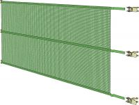 Spanpaneel, 1,00 m hoog x 5,00 m breed