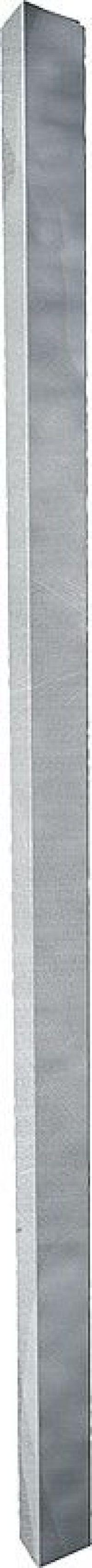 Metalen paal voor weidepoorten,80 x 80 mm l=2,00 m