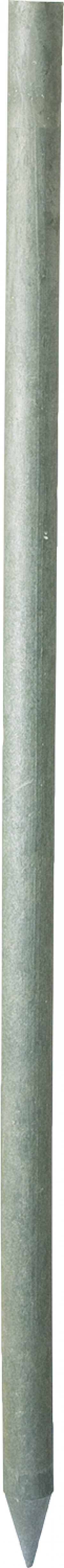 Kunststoffen weidepaal 175 cm lang, 6 cm sterk, rond