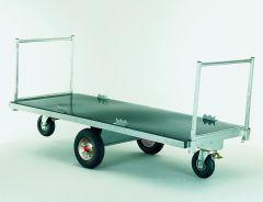 Voerwagen / Strowagen met middenas, 140 cm