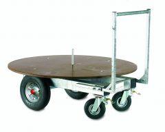 Voerwagen voor ronde balen