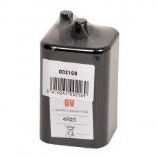 6V batterij voor Foxlights