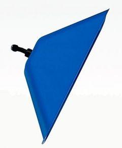 Spuitkap Matabi rechthoekig met elleboog (blauw)