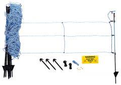 Wilde zwijnen stroomnet, blauw schrikdraad net