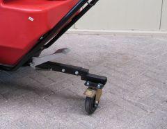 Zwenkwielset voor handmatig gebruik
