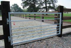 Landhek/ weide poort 2,5 meter