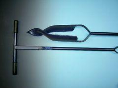 Grondboor DeWit 16 cm gedraaide punt verlengbaar